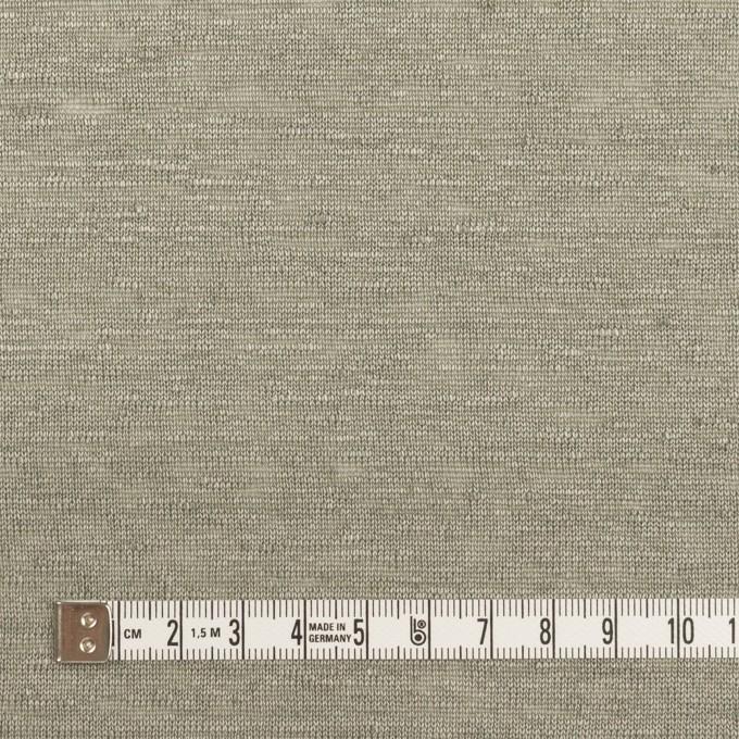 リネン×無地(エレファントスキン)×天竺ニット_全4色 イメージ4