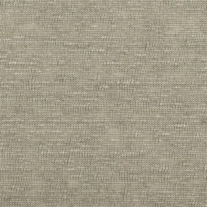 リネン×無地(エレファントスキン)×天竺ニット_全4色 イメージ1
