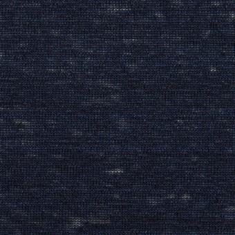 リネン×無地(ネイビー)×天竺ニット_全4色 サムネイル1