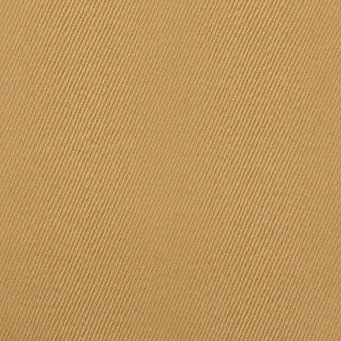コットン&ポリエステル×無地(オークルベージュ)×サテンストレッチ イメージ1