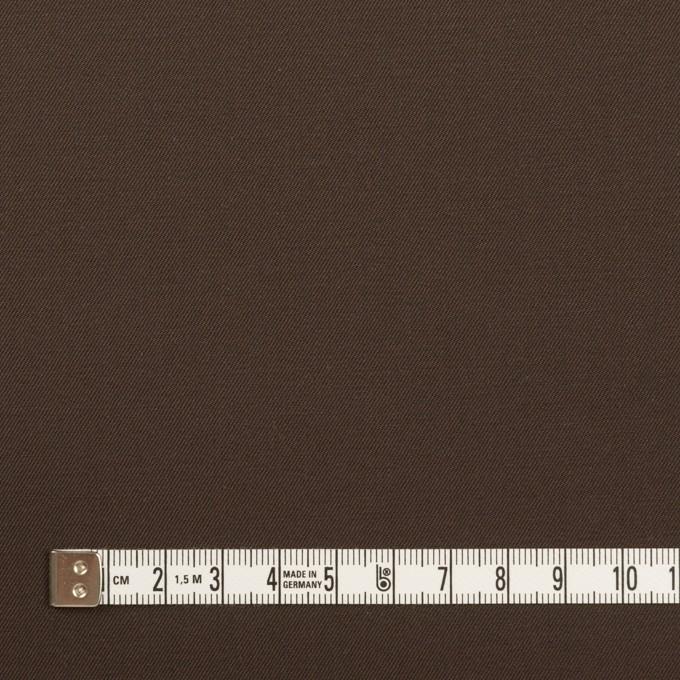 コットン×無地(チョコレート)×シャンブレー・ギャバジン イメージ4