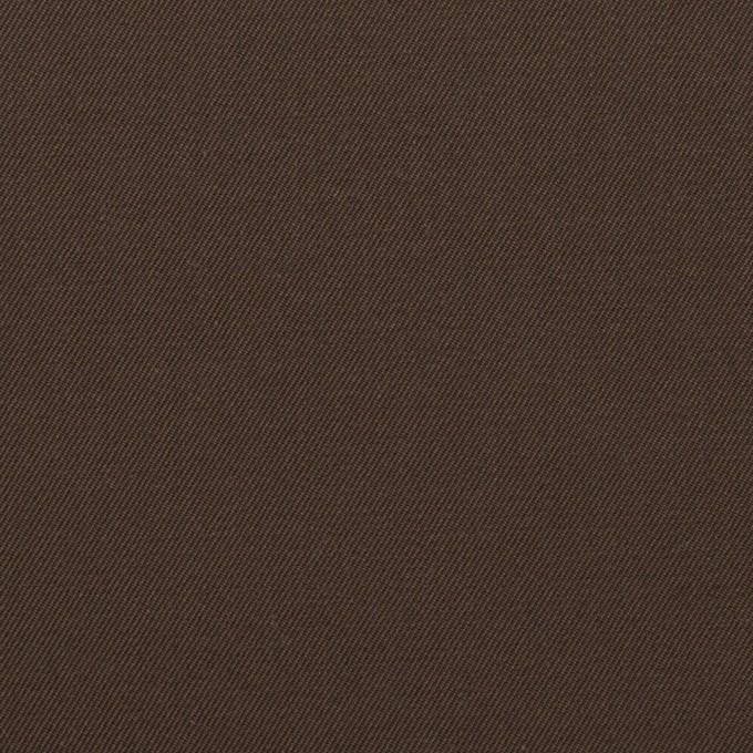 コットン×無地(チョコレート)×シャンブレー・ギャバジン イメージ1