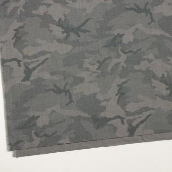 ポリエステル&レーヨン混×迷彩(グレー)×斜子織_全3色 サムネイル2