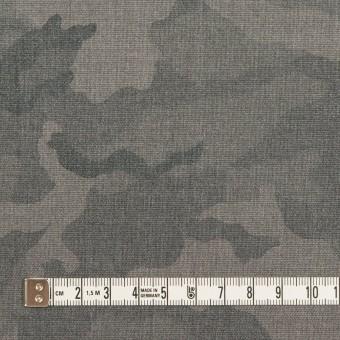 ポリエステル&レーヨン混×迷彩(グレー)×斜子織_全3色 サムネイル4