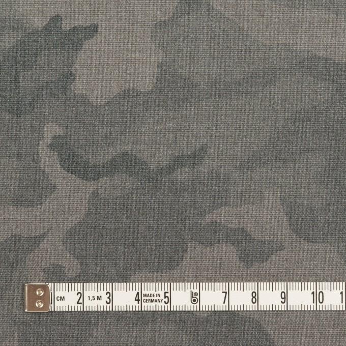 ポリエステル&レーヨン混×迷彩(グレー)×斜子織_全3色 イメージ4