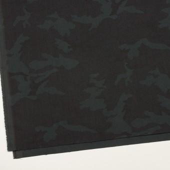 ポリエステル&レーヨン混×迷彩(チャコール)×斜子織_全3色 サムネイル2