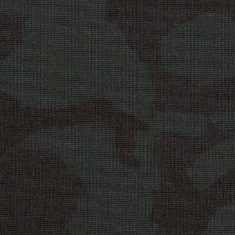 ポリエステル&レーヨン混×迷彩(チャコール)×斜子織_全3色