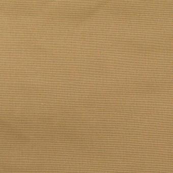 ポリエステル&コットン×無地(オークル)×ブロード(パラフィン加工)_全2色