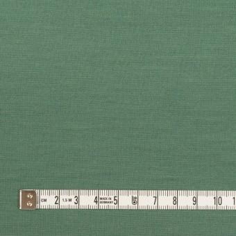 ウール×無地(フォレストグリーン)×天竺ニット_全3色 サムネイル4