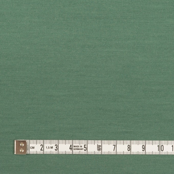 ウール×無地(フォレストグリーン)×天竺ニット_全3色 イメージ4