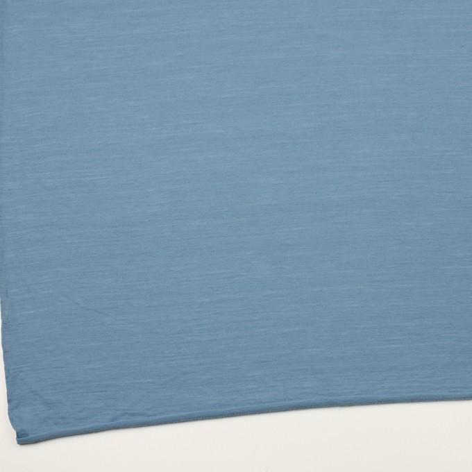 ウール×無地(チョークブルー)×天竺ニット_全3色 イメージ2