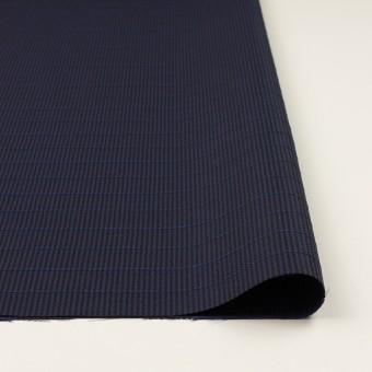 ウール&ポリウレタン×チェック&ボーダー(グレープ&ブラック)×千鳥格子ストレッチ_全2色_イタリア製 サムネイル3