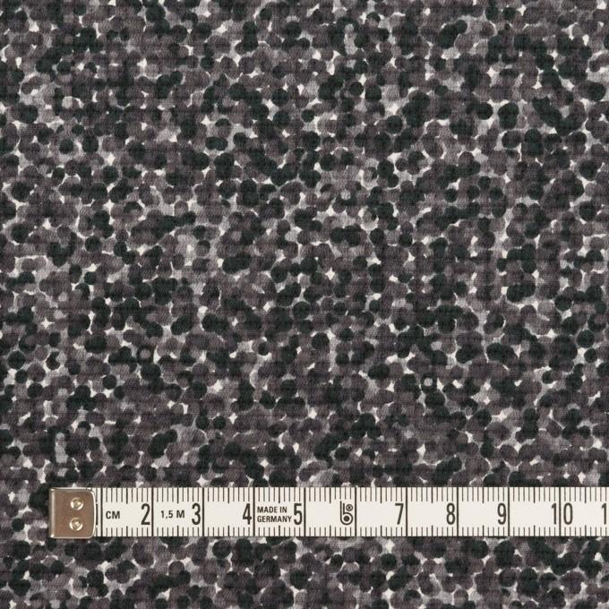 コットン&ポリウレタン×ミックス(グレープグレー)×ピケストレッチ_イタリア製 イメージ4