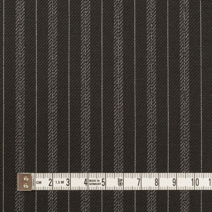 コットン×ストライプ(チャコール)×チノクロス イメージ4
