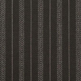 コットン×ストライプ(チャコール)×チノクロス サムネイル1