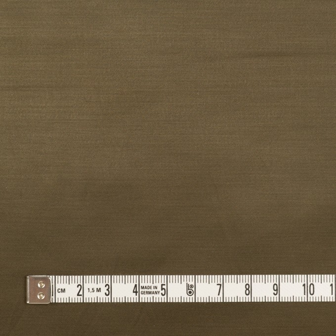 ナイロン&コットン混×無地(ダークカーキ)×サテンストレッチ_全2色 イメージ4