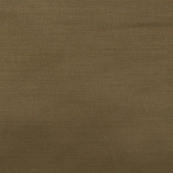 ナイロン&コットン混×無地(ダークカーキ)×サテンストレッチ_全2色 サムネイル1