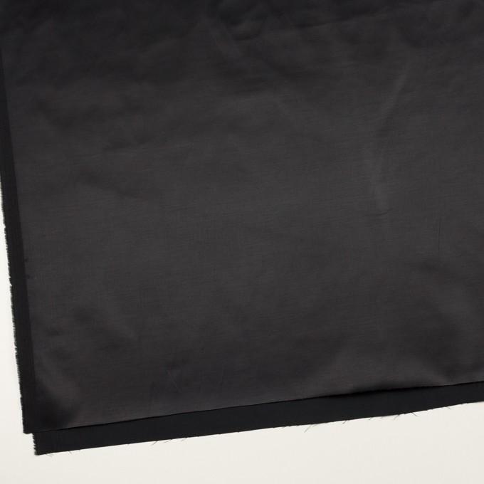 ナイロン&コットン混×無地(ダークネイビー)×サテンストレッチ_全2色 イメージ2