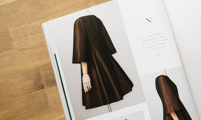今日のコレコレ。#180 Xラインひざ丈+ボートネック+7分丈ワイドスリーブのドレス