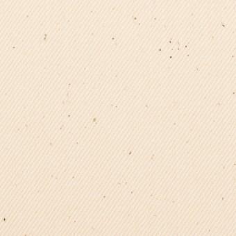 コットン×無地(キナリ)×セルビッチ・カツラギ サムネイル1