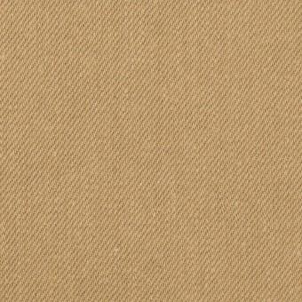 コットン×無地(オークル)×セルビッチ・カツラギ サムネイル1