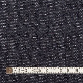 コットン×無地(インディゴ)×セルビッチ・デニム(13oz) サムネイル4