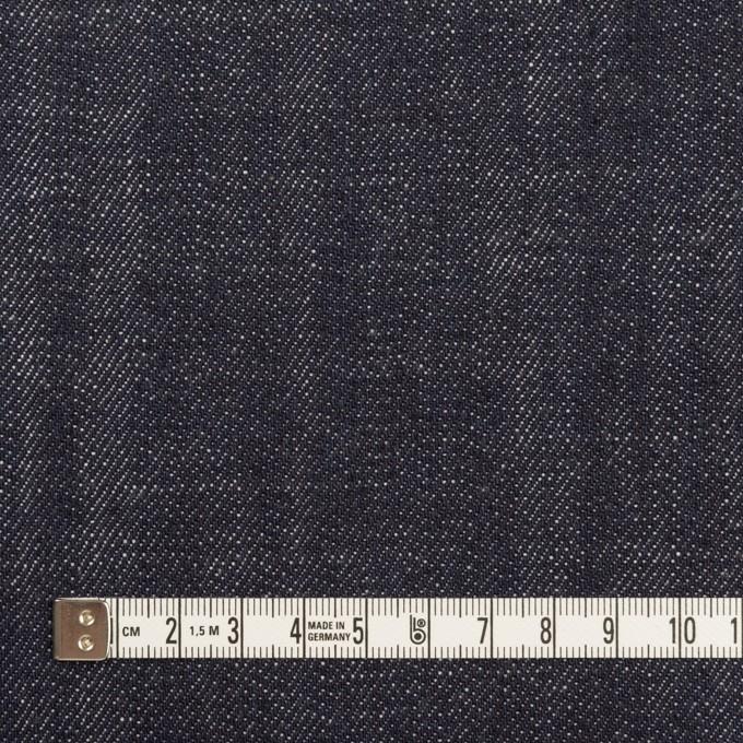 コットン×無地(インディゴ)×セルビッチ・デニム(13oz) イメージ4