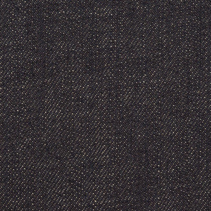 コットン×無地(インディゴ)×セルビッチ・デニム(13.5oz) イメージ1