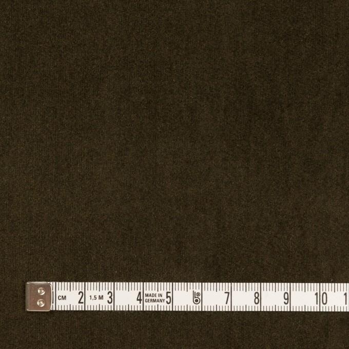 コットン×無地(カーキブラウン)×ベッチンワッシャー_全5色 イメージ4
