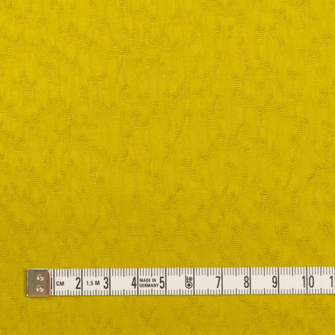 コットン&ポリウレタン×無地(ミモザ)×サテンジャガード・ストレッチ イメージ4