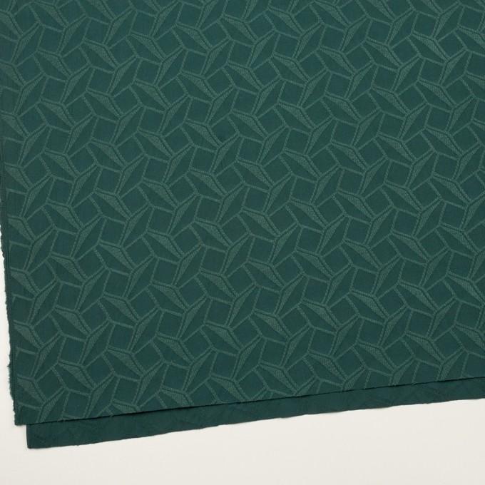 コットン&ポリエステル混×幾何学模様(バルビゾン)×ファイユジャガード・ストレッチ イメージ2
