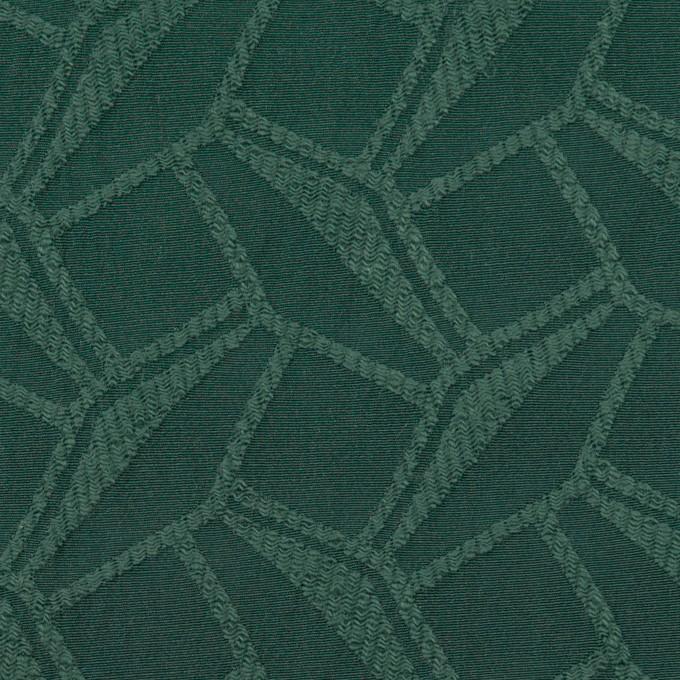 コットン&ポリエステル混×幾何学模様(バルビゾン)×ファイユジャガード・ストレッチ イメージ1