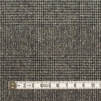 ウール×チェック(チャコールグレー)×ツイード サムネイル4