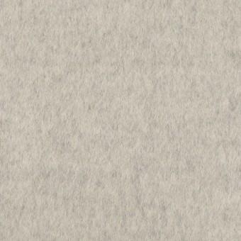ウール&カシミア×無地(ライトグレー)×ビーバー