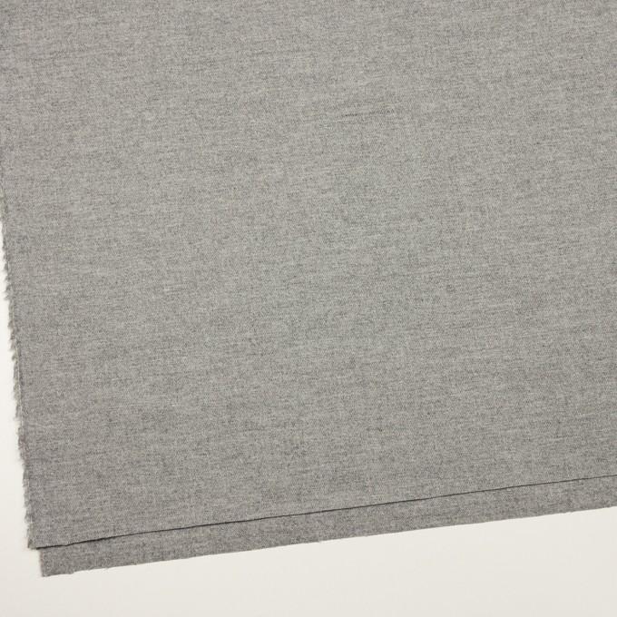 ウール&ポリウレタン×無地(グレー)×サージストレッチ イメージ2