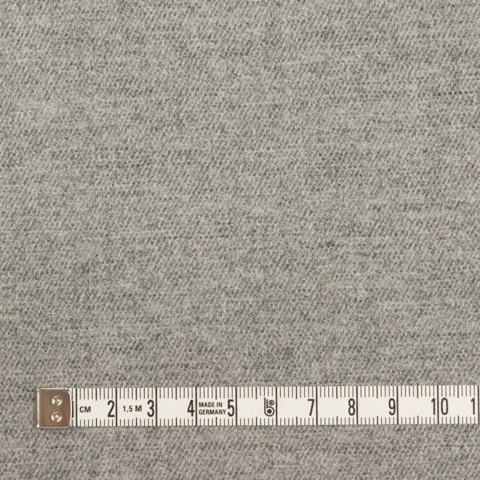 ウール&ポリウレタン×無地(グレー)×サージストレッチ イメージ4