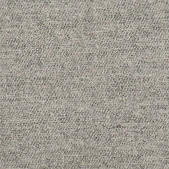 ウール&ポリウレタン×無地(グレー)×サージストレッチ