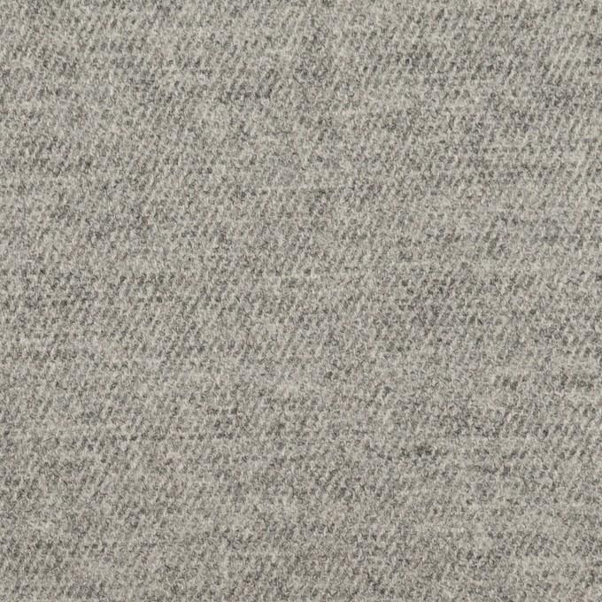 ウール&ポリウレタン×無地(グレー)×サージストレッチ イメージ1