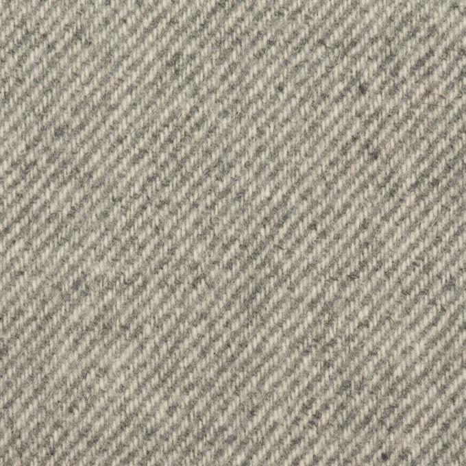 ウール×無地(グレー)×カルゼ イメージ1