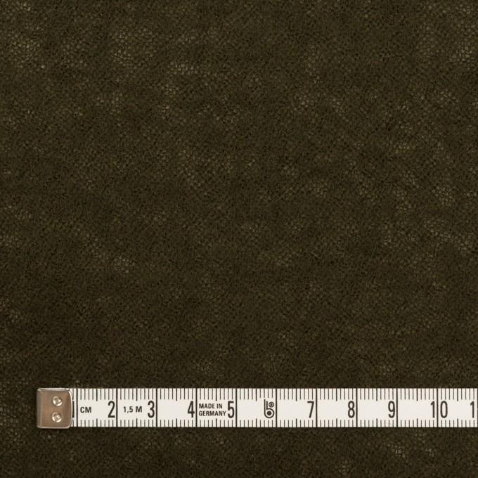 ウール×無地(カーキブラウン)×ガーゼ イメージ4