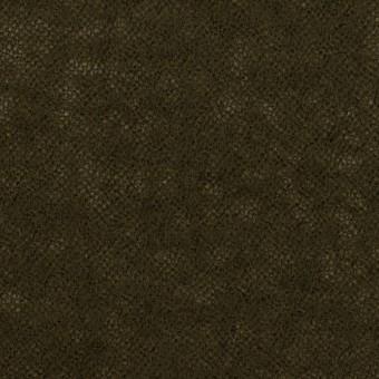 ウール×無地(カーキブラウン)×ガーゼ