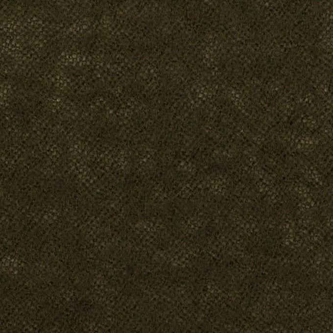 ウール×無地(カーキブラウン)×ガーゼ イメージ1
