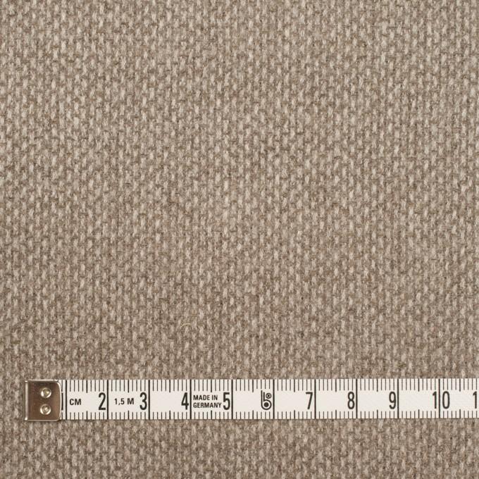 ウール×ミックス(オートミール)×斜子織 イメージ4