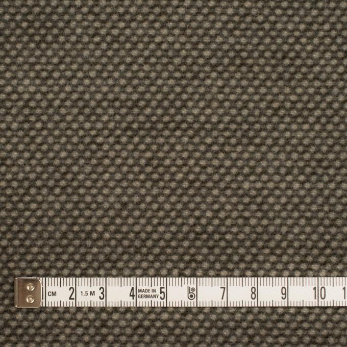 ウール&アクリル×ミックス(アッシュブラウン)×かわり織 イメージ4