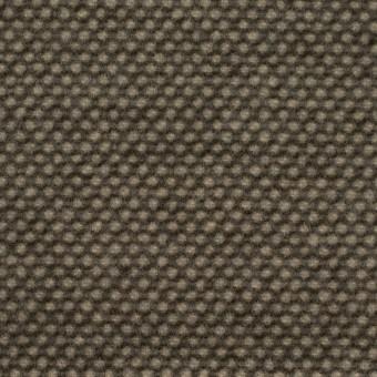 ウール&アクリル×ミックス(アッシュブラウン)×かわり織