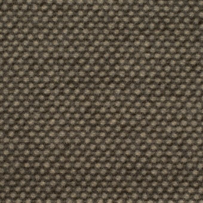 ウール&アクリル×ミックス(アッシュブラウン)×かわり織 イメージ1