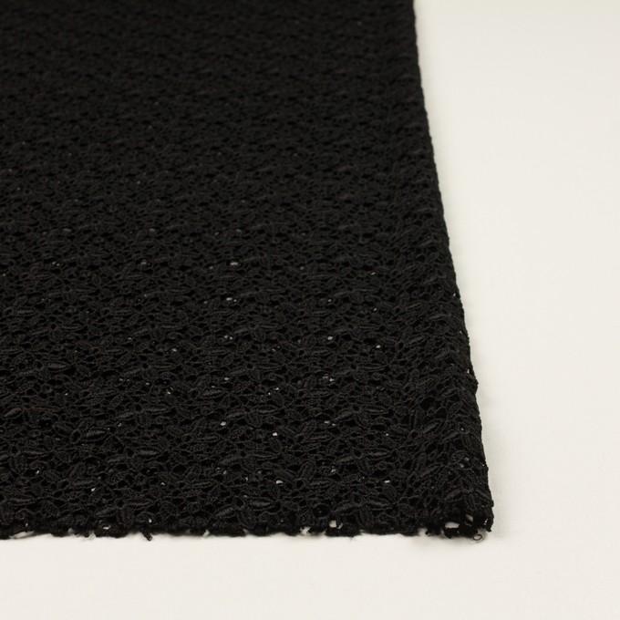 レーヨン×フラワー(ブラック)×ケミカルレース_全2色 イメージ3