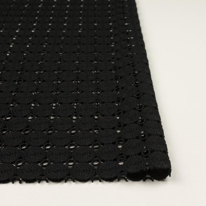 コットン×サークル(ブラック)×ケミカルレース イメージ3