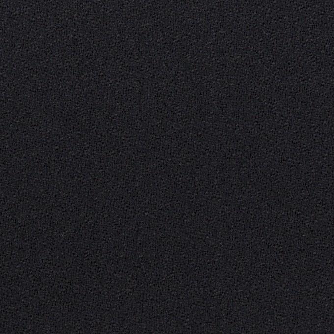 ウール×無地(ダークネイビー)×ジョーゼット イメージ1