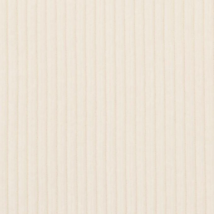 コットン×無地(ミルク)×中コーデュロイ イメージ1